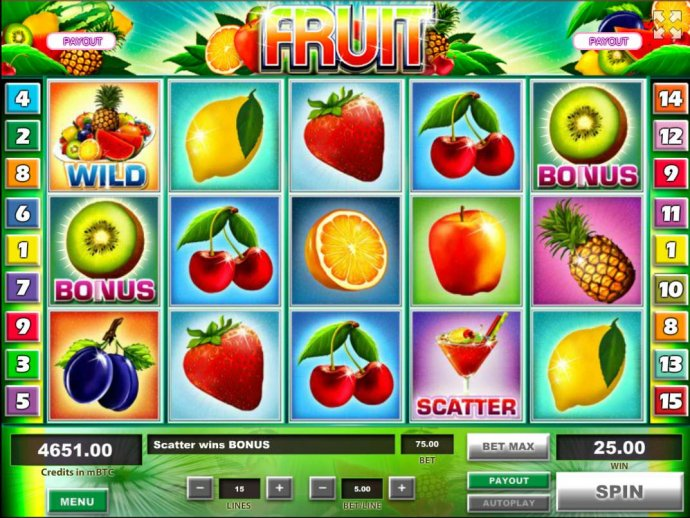 Bonus feature triggered when you land a kiwi bonus symbol on reels 1 and 5. by No Deposit Casino Guide
