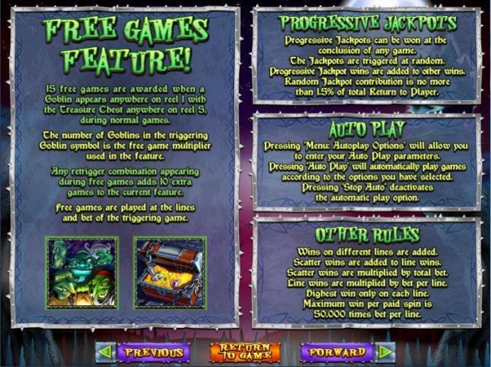 Goblin's Treasure screenshot
