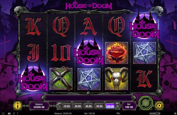 No Deposit Casino Guide image of House of Doom