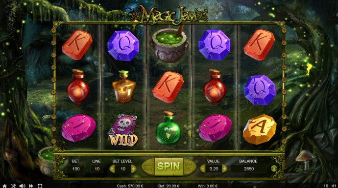 No Deposit Casino Guide image of Magic Jam