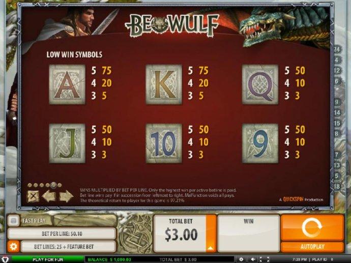Beowulf screenshot