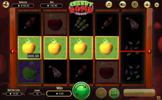 No Deposit Casino Guide image of Cherry Bomb Deluxe
