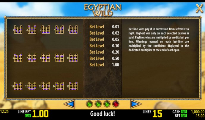 Egyptian Wild by No Deposit Casino Guide