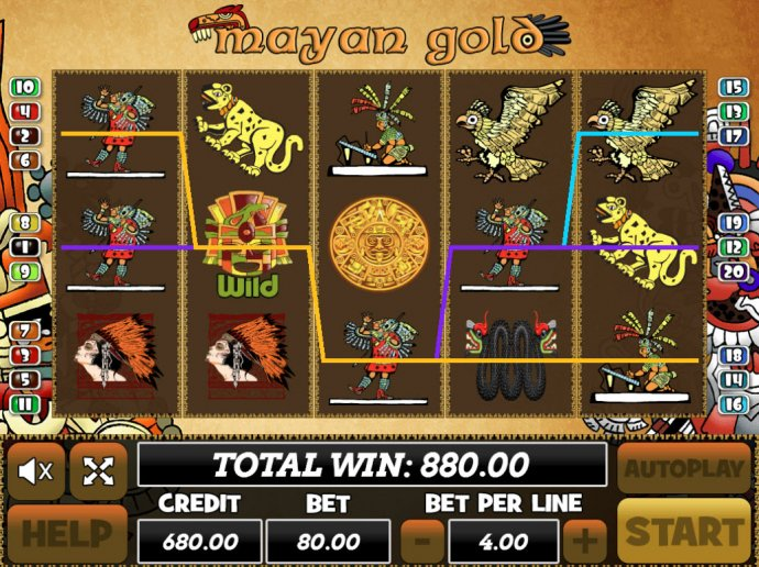 Mayan Gold by No Deposit Casino Guide