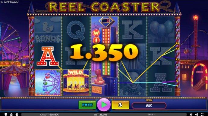 Reel Coaster screenshot