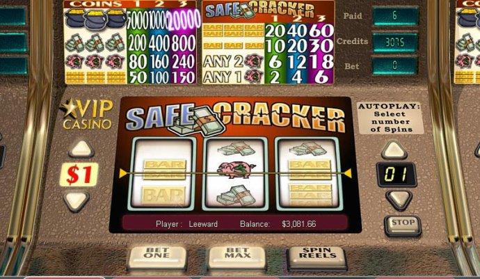 Safe Cracker by No Deposit Casino Guide