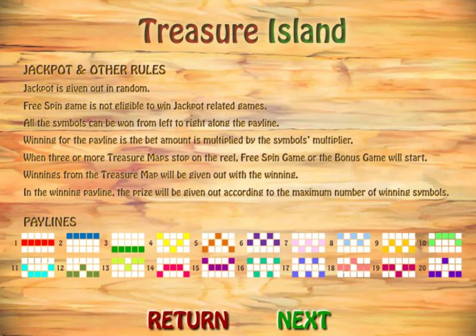 No Deposit Casino Guide image of Treasure Island