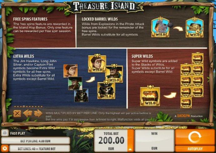 No Deposit Casino Guide image of Treasure Island