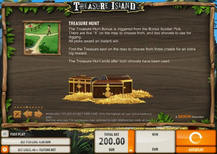 Treasure Hunt Rules - No Deposit Casino Guide