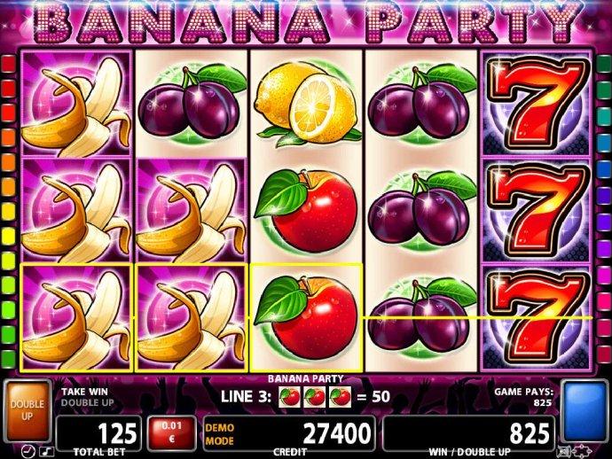 Banana Party screenshot