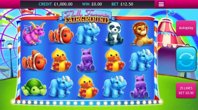 Fluffy Favourites Fairground by No Deposit Casino Guide