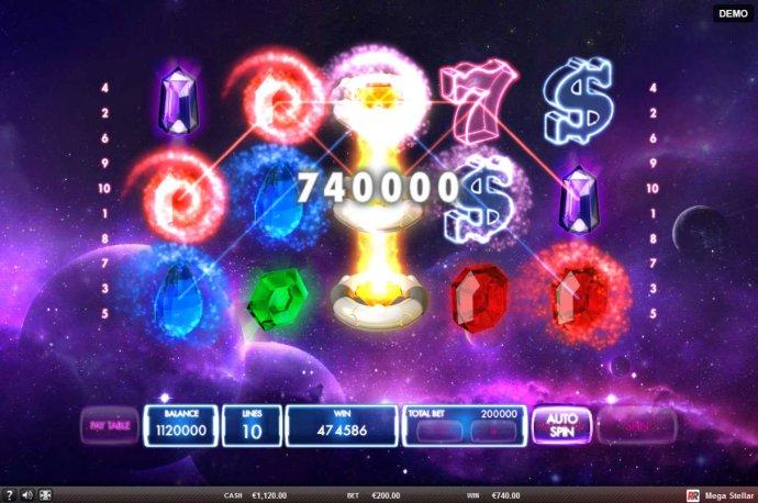 No Deposit Casino Guide image of Mega Stellar