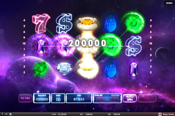 Mega Stellar screenshot