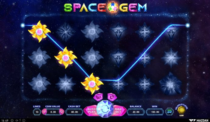 Space Gem by No Deposit Casino Guide