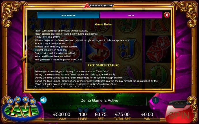 Cash Cave screenshot