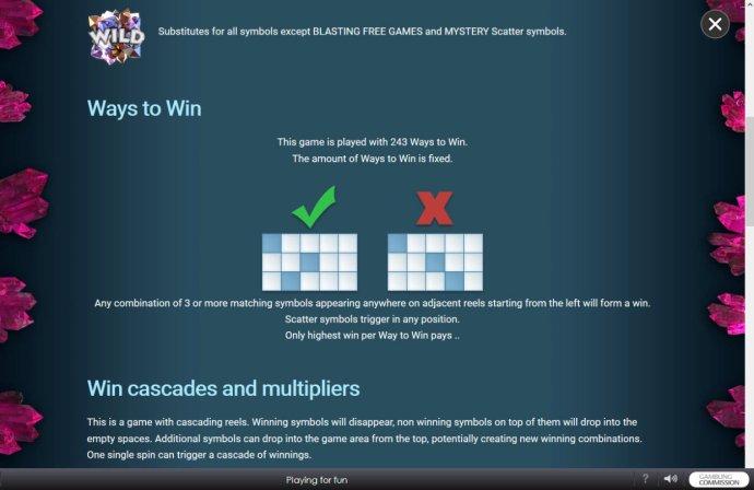 No Deposit Casino Guide - 243 Ways to Win