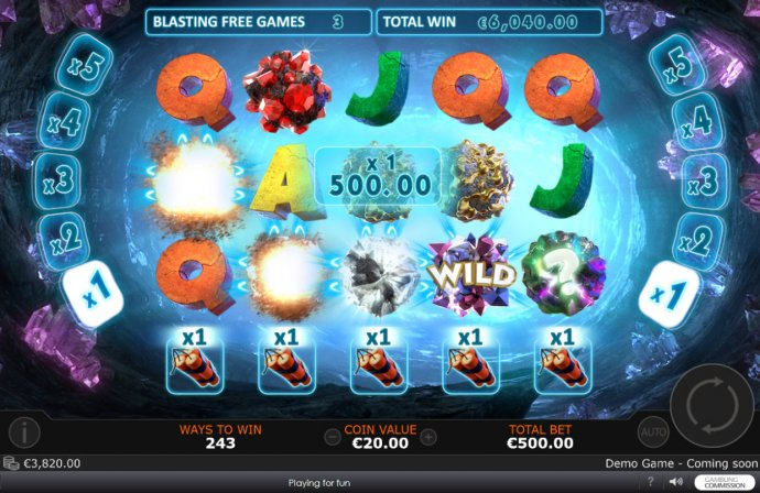 No Deposit Casino Guide image of Gem Burst