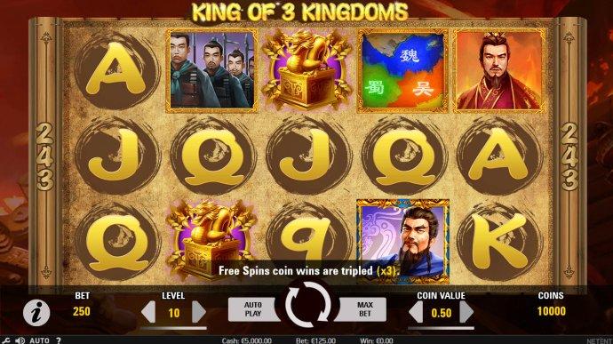 King of 3 Kingdoms screenshot