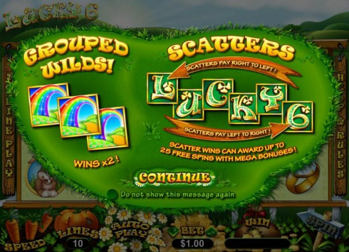 Lucky 6 by No Deposit Casino Guide