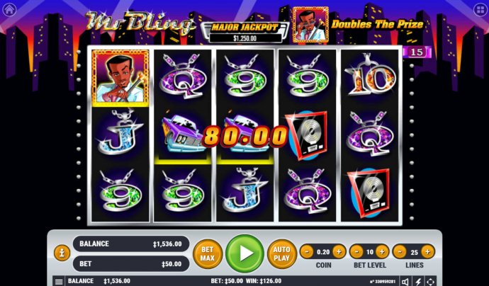 Mr. Bling by No Deposit Casino Guide