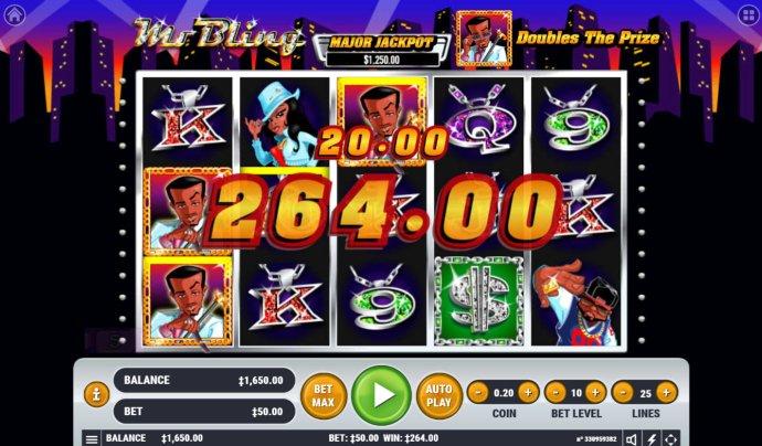 No Deposit Casino Guide image of Mr. Bling