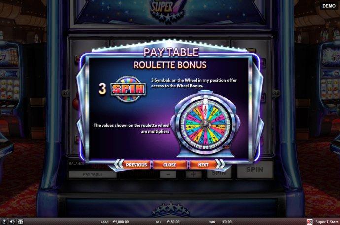 No Deposit Casino Guide image of Super 7 Stars