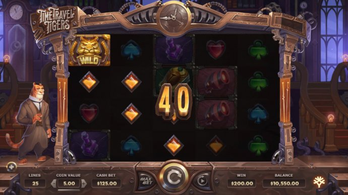 Time Travel Tigers screenshot