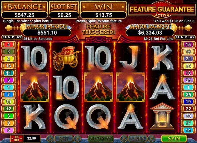 Vulcan by No Deposit Casino Guide