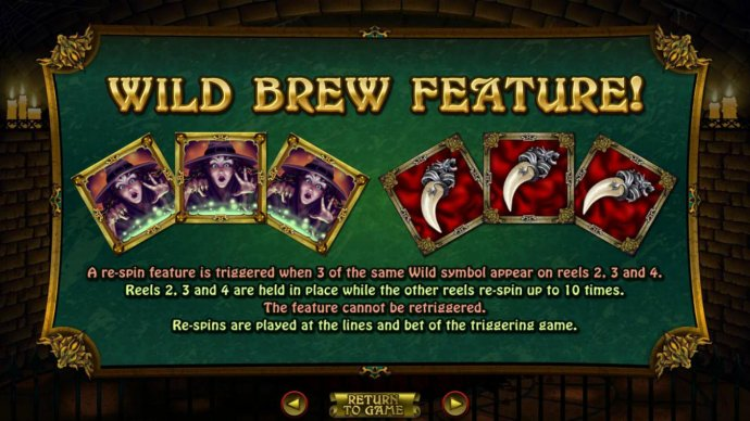 Witch's Brew by No Deposit Casino Guide