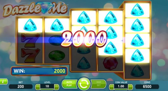 A 2000 coin payout triggered by multiple winning combinations. - No Deposit Casino Guide