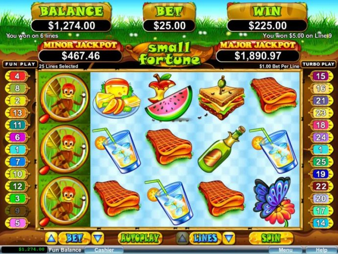 No Deposit Casino Guide image of Small Fortune