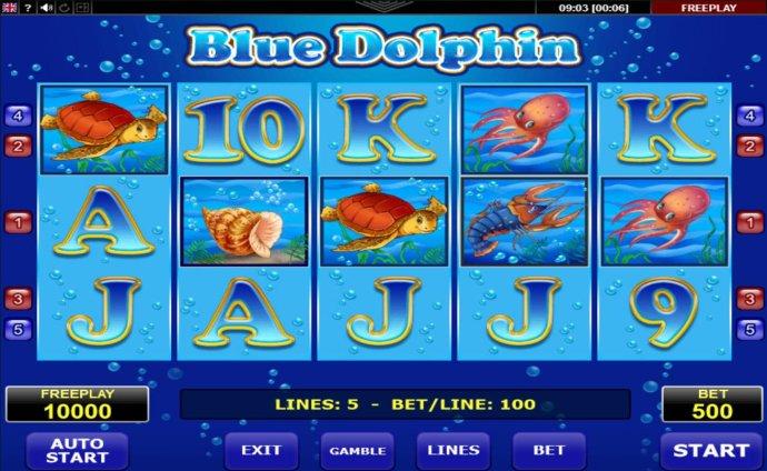 Blue Dolphin screenshot