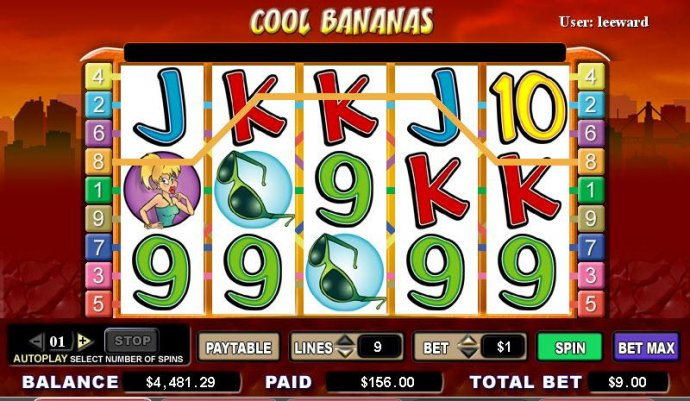Cool Bananas by No Deposit Casino Guide