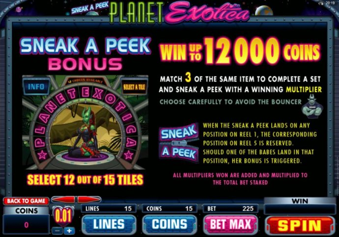 Planet Exotica by No Deposit Casino Guide