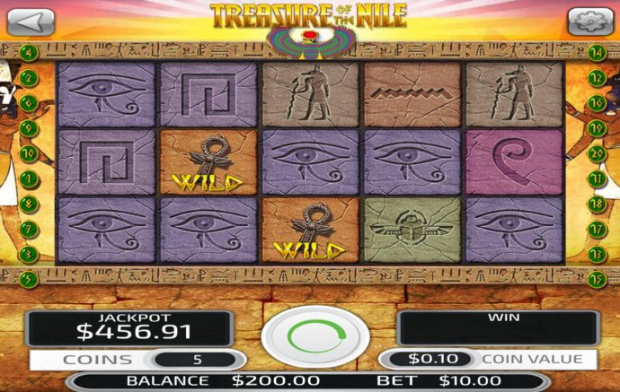 Treasure of the Nile by No Deposit Casino Guide