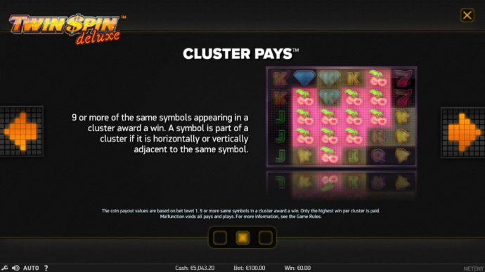 No Deposit Casino Guide - Cluster Pays