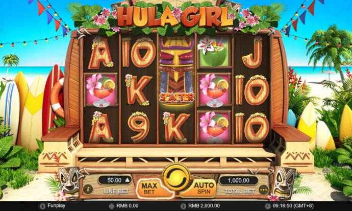 Hula Girl screenshot