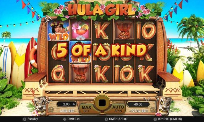 No Deposit Casino Guide image of Hula Girl