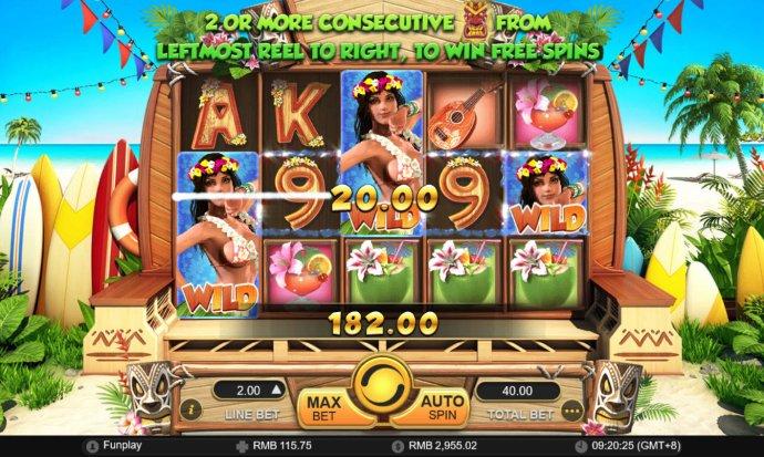 Hula Girl by No Deposit Casino Guide