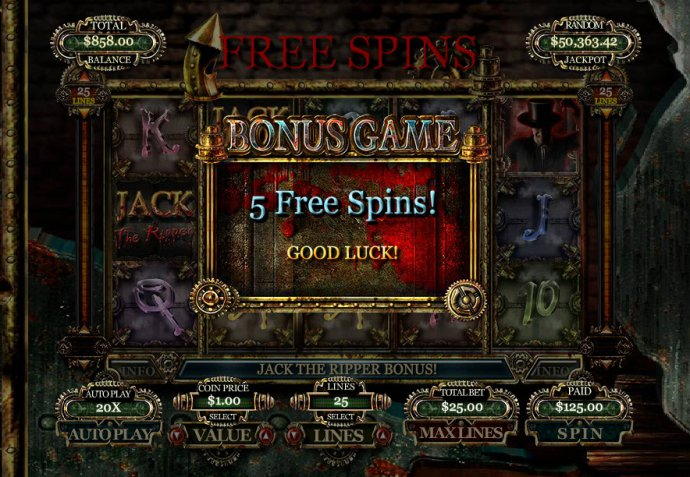 No Deposit Casino Guide image of Jack the Ripper