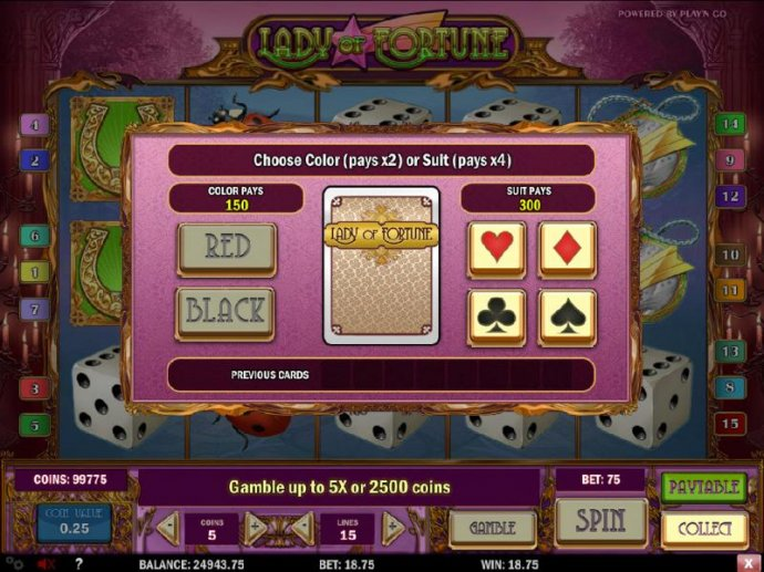 Lady of Fortune by No Deposit Casino Guide