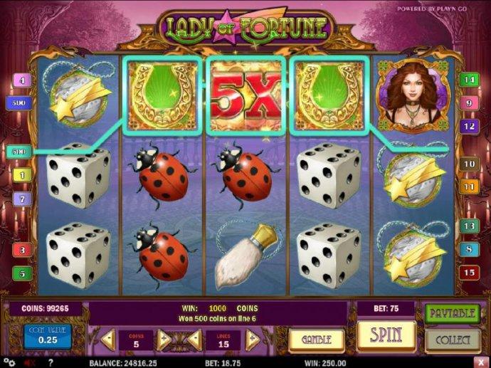 Lady of Fortune screenshot