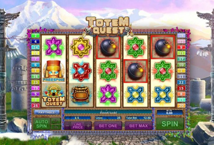 Totem Quest by No Deposit Casino Guide