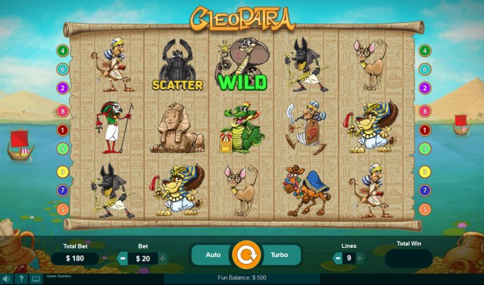 Cleopatra by No Deposit Casino Guide