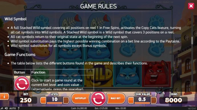 No Deposit Casino Guide image of Copy Cats