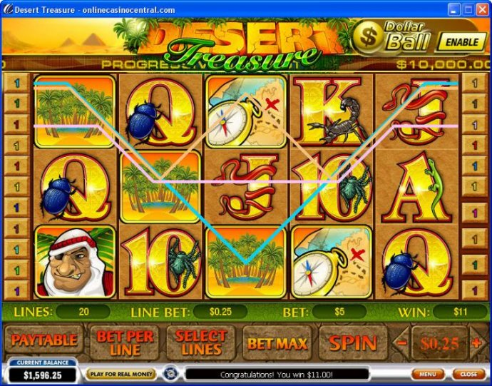 Desert Treasure by No Deposit Casino Guide