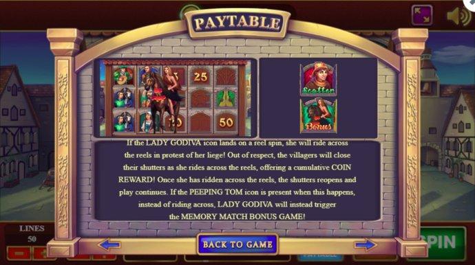 No Deposit Casino Guide image of Lady Godiva