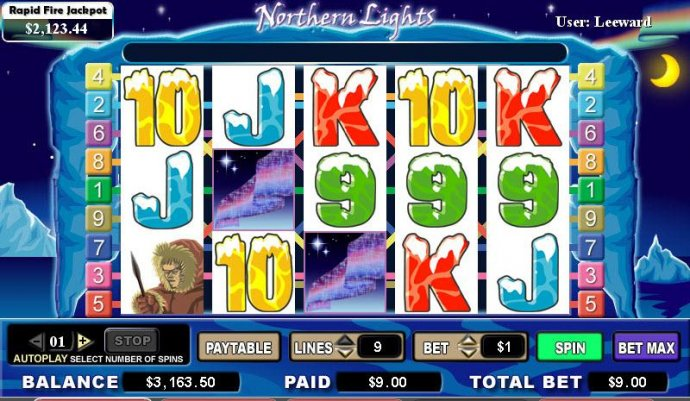 No Deposit Casino Guide image of Northern Lights