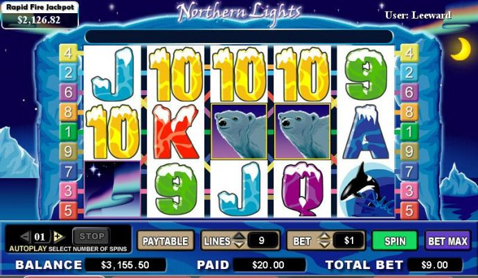 Northern Lights by No Deposit Casino Guide