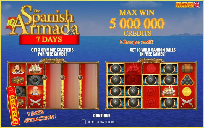 The Spanish Armada 7 Days by No Deposit Casino Guide